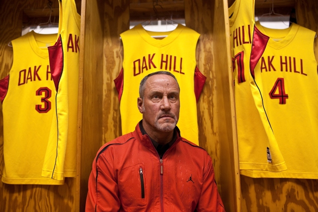 Oak Hill coach Steve Smith is excites to coach No. 1 Harry Giles III. (Photo: Jared Soares, For USA TODAY Sports)