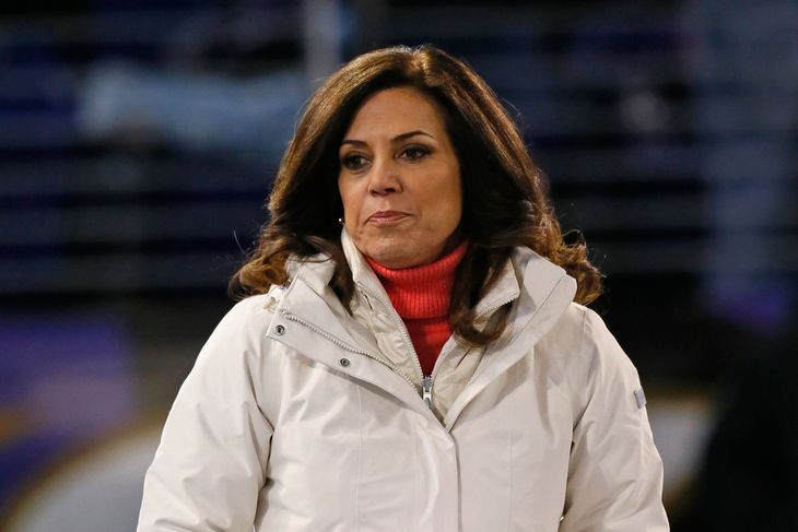 Michelle Tafoya has broadcast on sports ranging from soccer to table tennis and has covered several Super Bowls, Olympics, and nearly every event in between.  She also hosted a sports talk show in Minneapolis - USA TODAY Sports Images