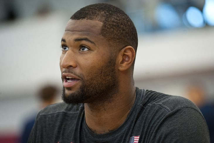 Sacramento Kings superstar DeMarcus Cousins spent his Saturday off-day at a high school basketball game — USA TODAY Sports Images