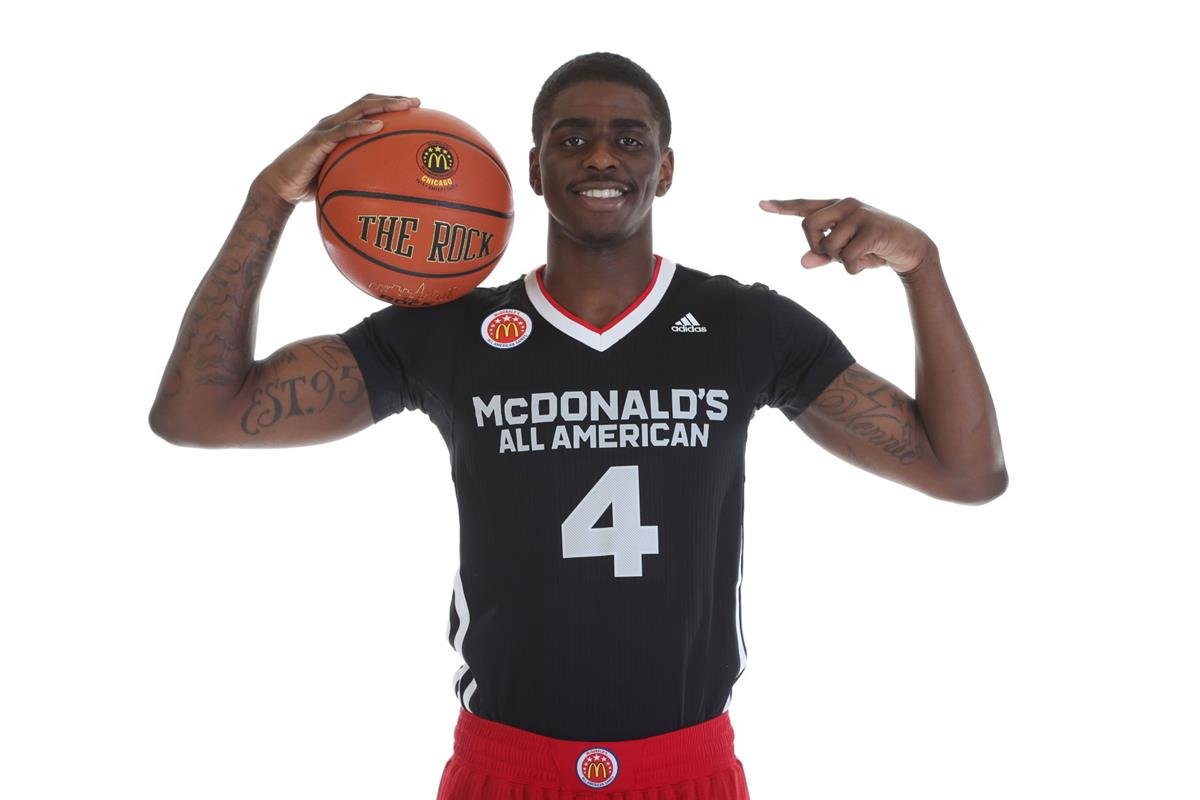 Oak Hill Academy's Dwayne Bacon is a member of the second team. (Photo: Brian Spurlock)