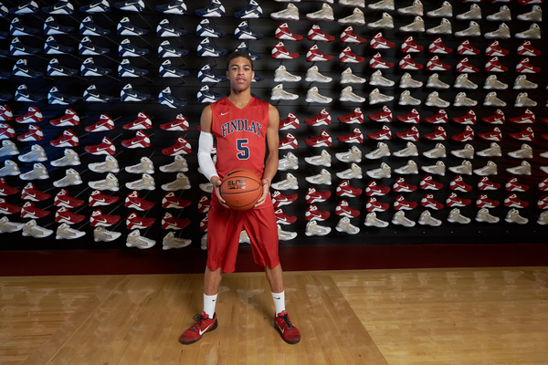 Point guard Derryck Thornton is one of several elite players for Findlay Prep / Jon Lopez