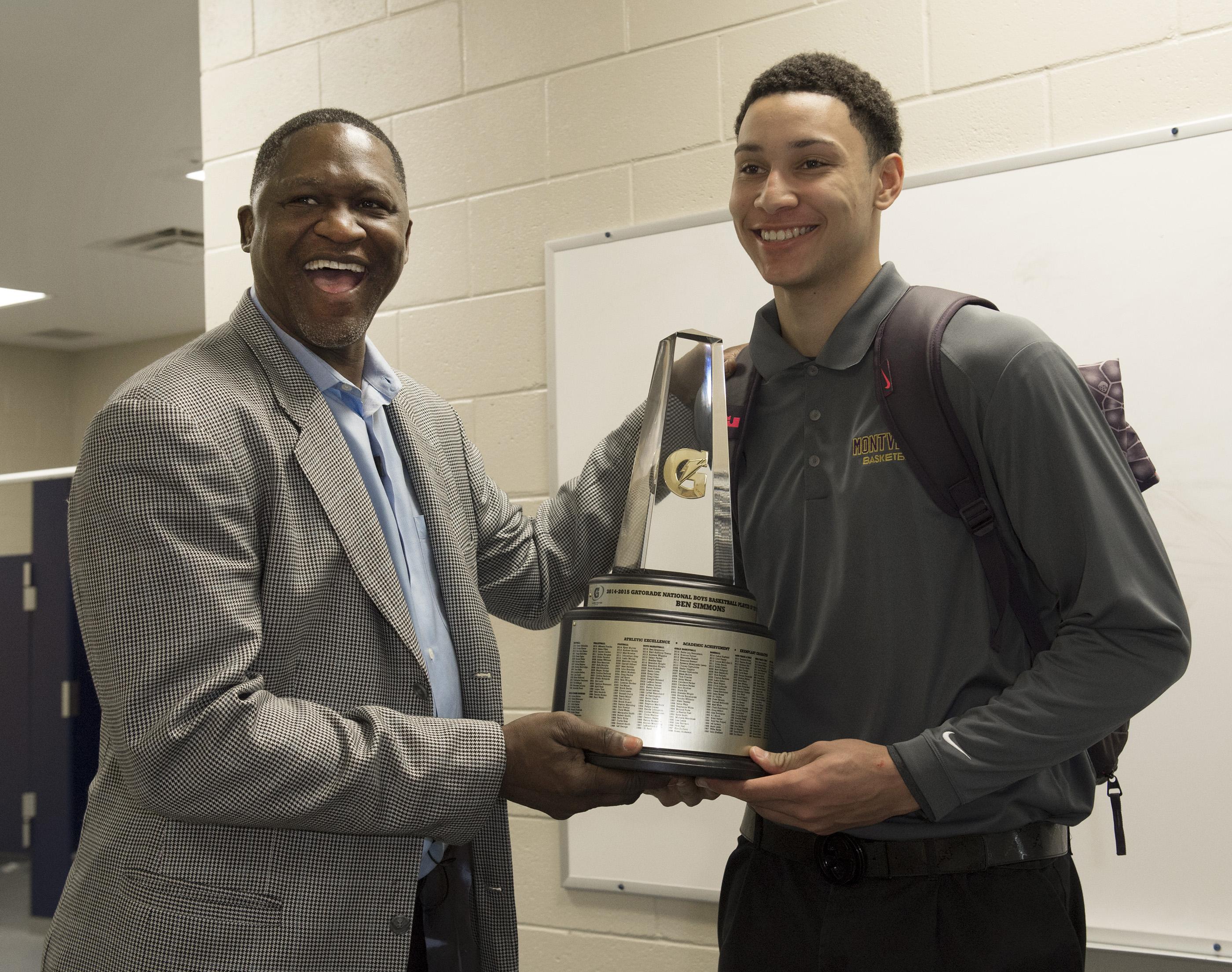 Future LSU big man Ben Simmons wins Gatorade Basketball Player of the Year. (Photo: Susan Goldman / Gatorade)
