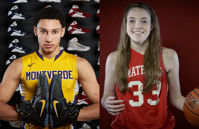 Ben Simmons and Katie Lou Samuelson win Morgan Wootten POY awards.