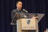 Tim Neal speaks at the Youth Sports Summit in Dallas on Monday (Photo: National Athletic Trainers' Association)