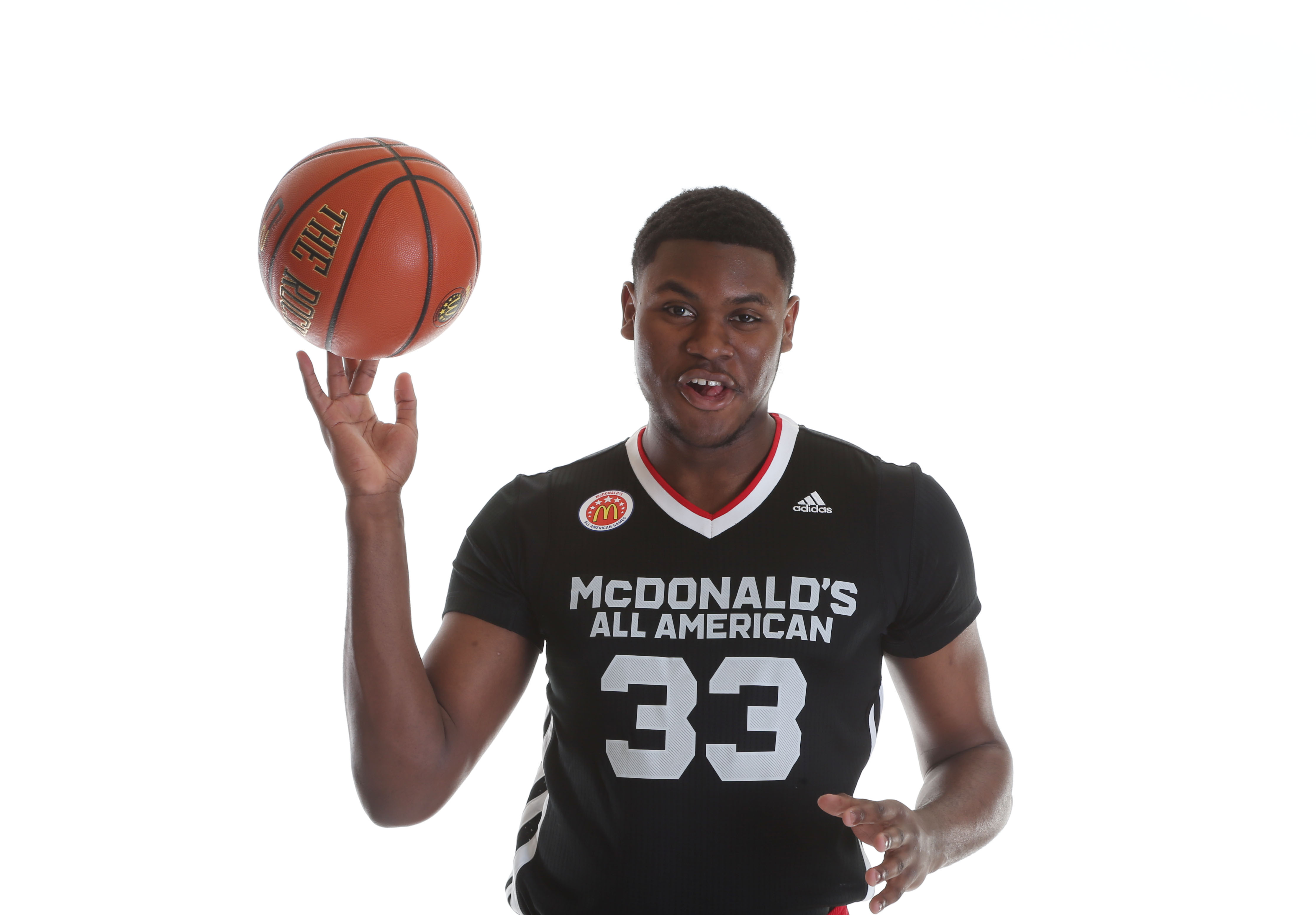 Diamond Stone poses during picture day at the McDonald's All American Game (Photo: Brian Spurlock, USA TODAY Sports)