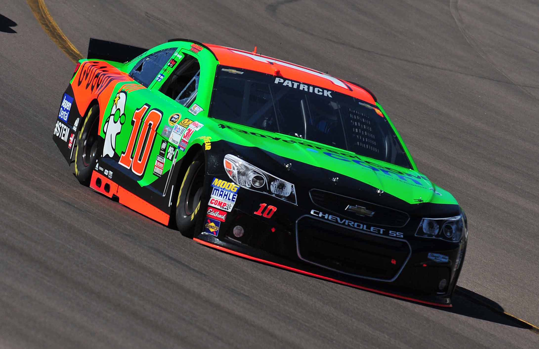 Danica Patrick during the CampingWorld.com 500 at Phoenix International Raceway. (Photo: Gary A. Vasquez, USA TODAY Sports)