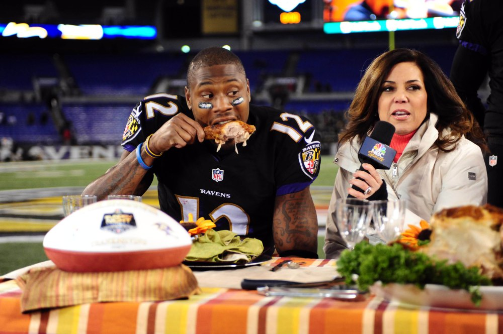 Michelle Tafoya said she was honored to be a part of the NBC Sports broadcast team