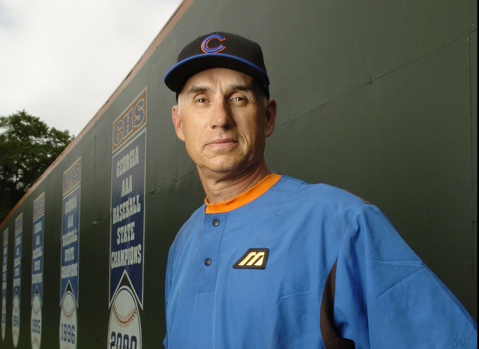 Bobby Howard, shown in this 2004 photo, was hired as the baseball coach at Central in Alabama. (Photo: Michael A. Schwarz)