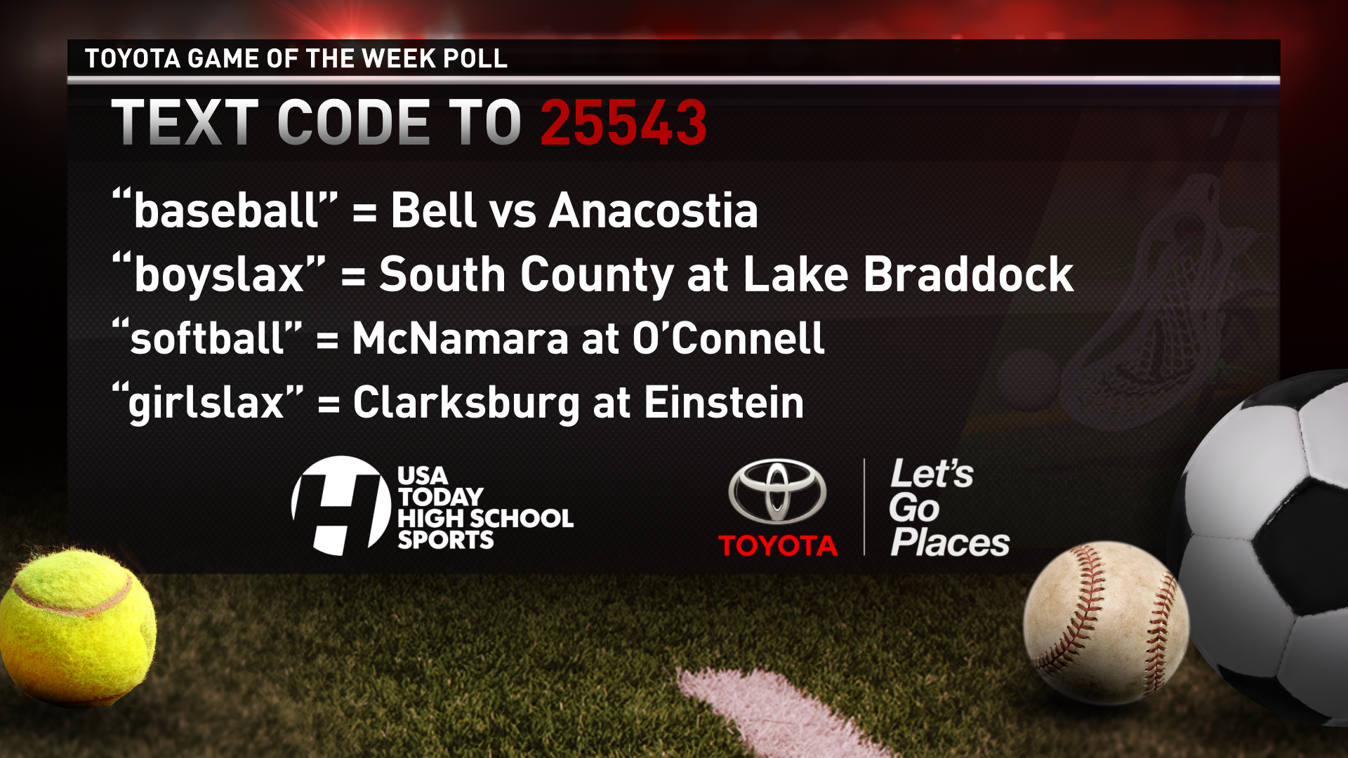 Toyota Game of the Week