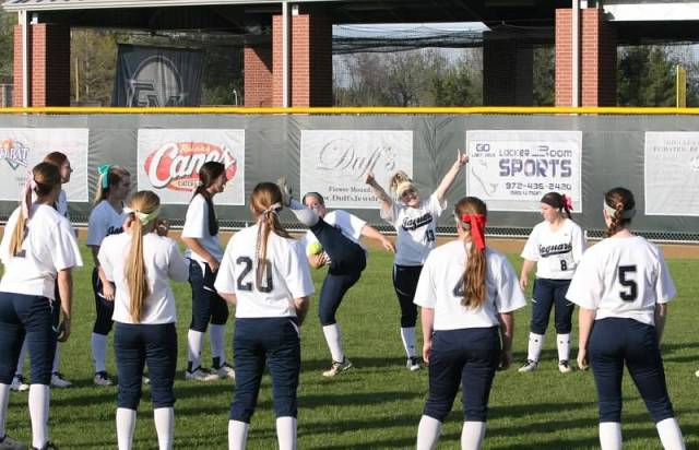 Flower Mound's softball seniors were allowed to skip a key district game so they could attend their senior prom —Flower Mound Softball Boosters