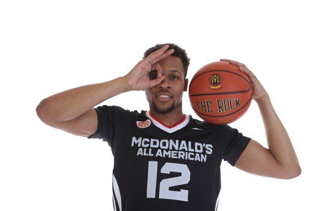 Isaiah Briscoe is cocky on the court, but it helps him dominate. / McDonald's AA