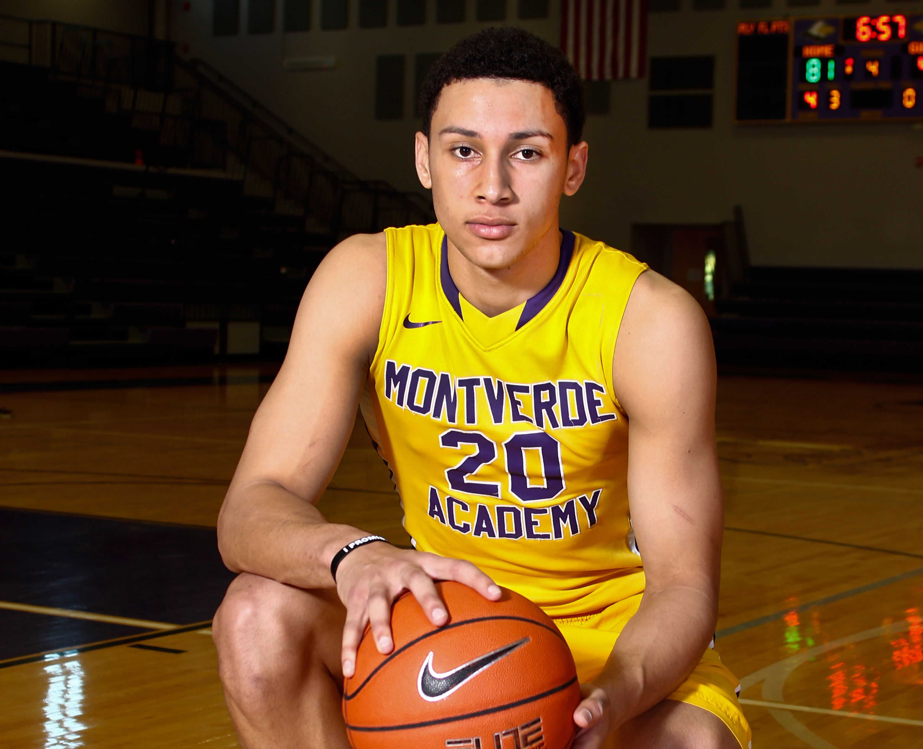 Ben Simmons of Montverde Academy is the No. 1 player in the composite basketball recruiting rankings (Photo: Reinhold Matay, USA TODAY Sports)
