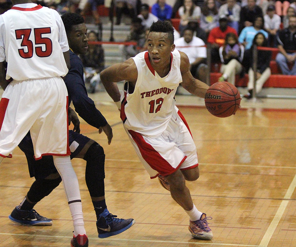 PREPS BOYS BASKETBALL: JANUARY 20, 2015, Murphy at Theodore