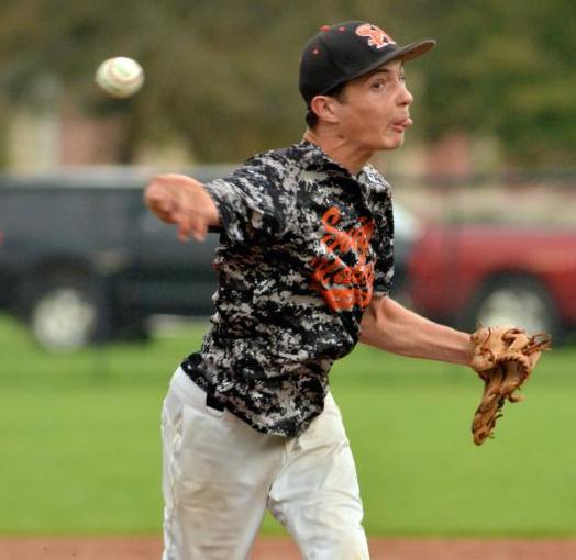 Alex Dragon hurled a no-hitter in his first game as a starting pitcher at South Hadley —Vine