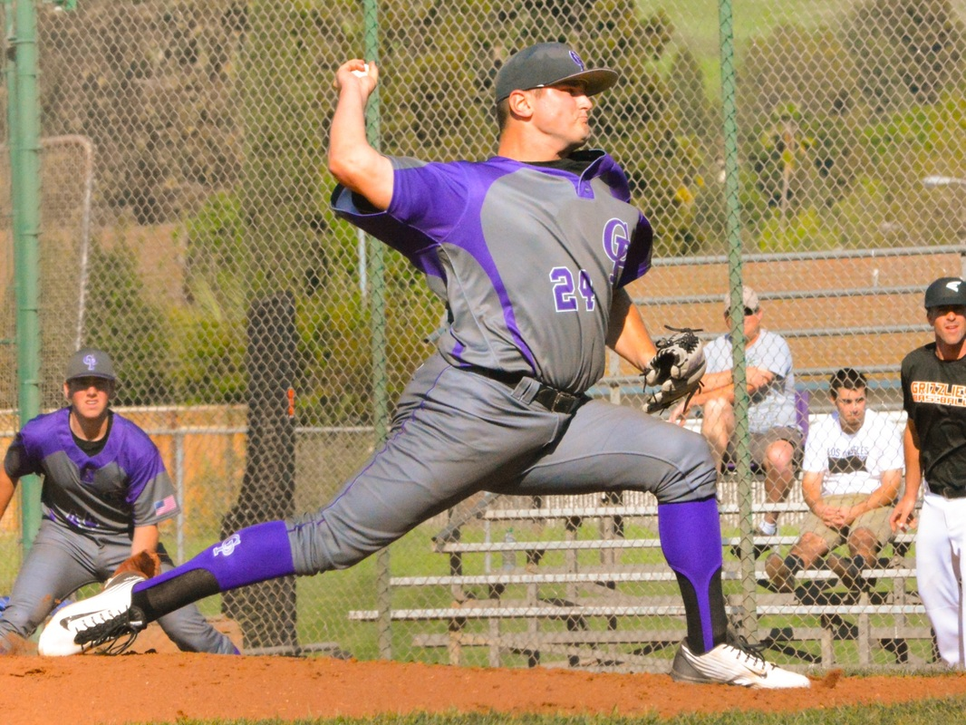 Joe DeMers has thrown three no-hitters for College Park (Pleasant Hill, Calif.) this season and  may pitch this week for a chance at a third no-hitter in a row. Photo by Chris Oar.