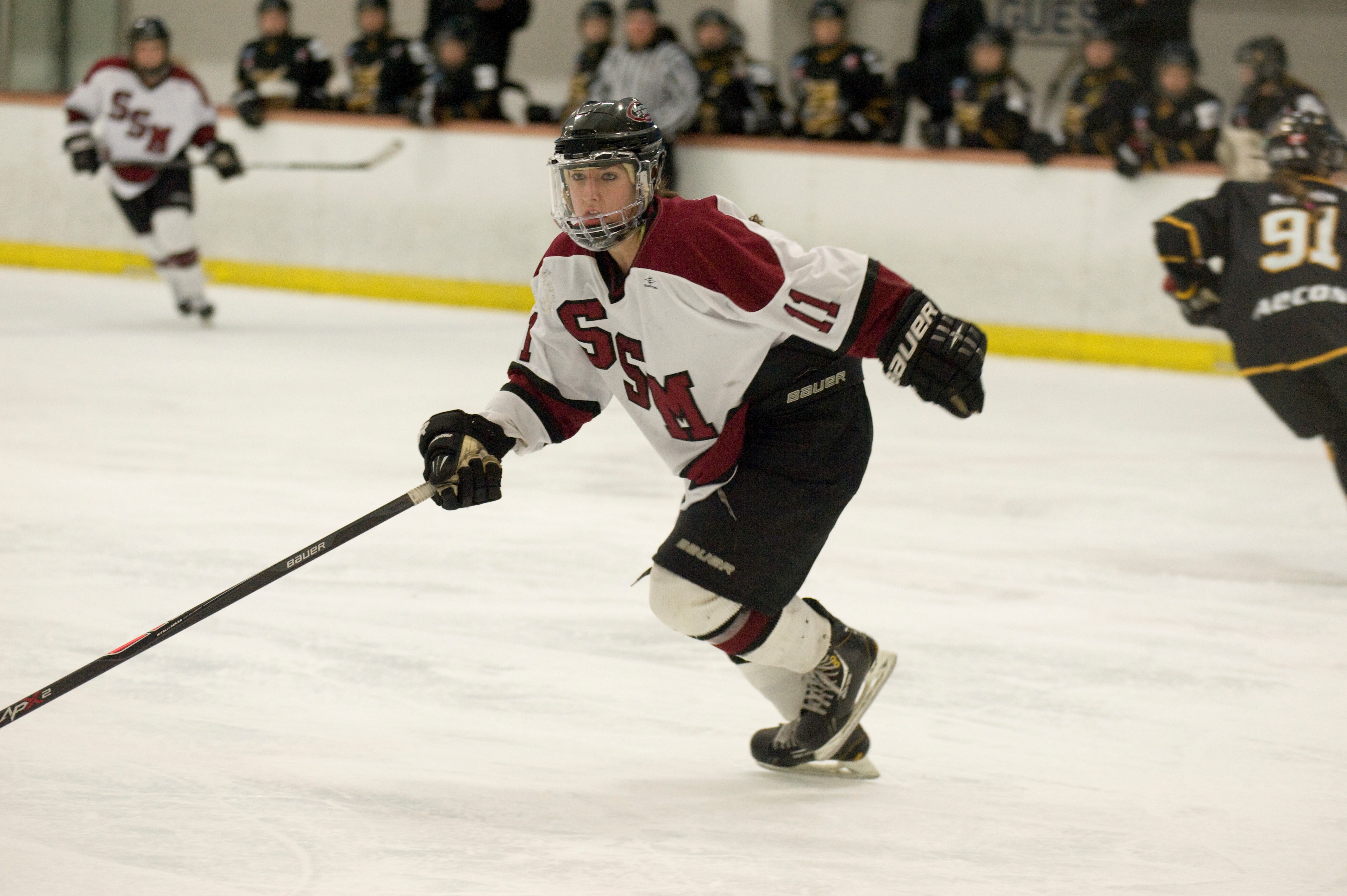 Melissa Samoskevich is the American Family Insurance ALL-USA Girls Hockey Player of the Year (Photo: Jerome Turbyville)