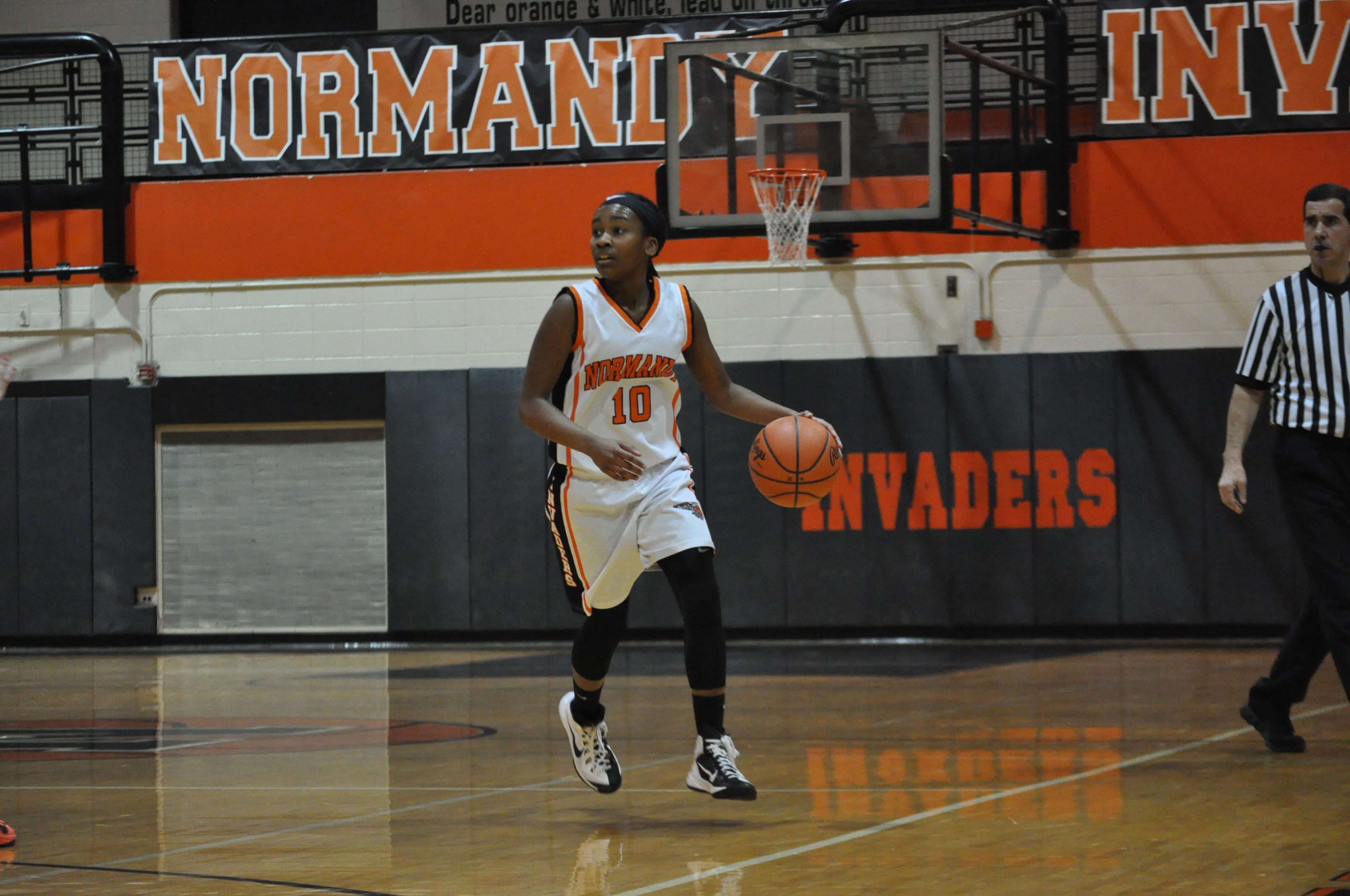 Normandy High School freshman Michaela Harrison / Photo courtesy Normandy Athletic Department