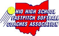 Ohio High School Fastpitch Softball Coaches Association logo