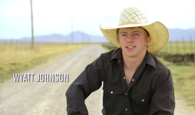 Wyatt Johnson became the first rodeo athlete to earn Sports Illustrated's High School Athlete of the Month award —YouTube screen shot