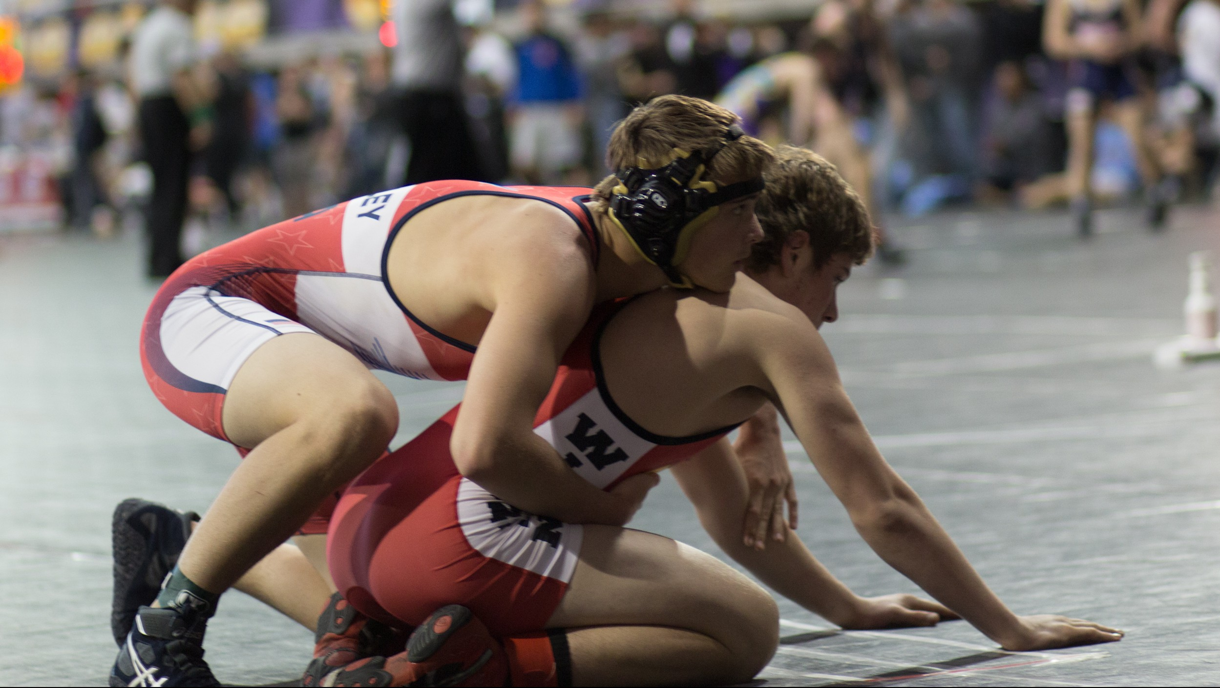 Zach McCauley has learned to manage is diabetes during a stellar wrestling career Photo: Tom McCauley