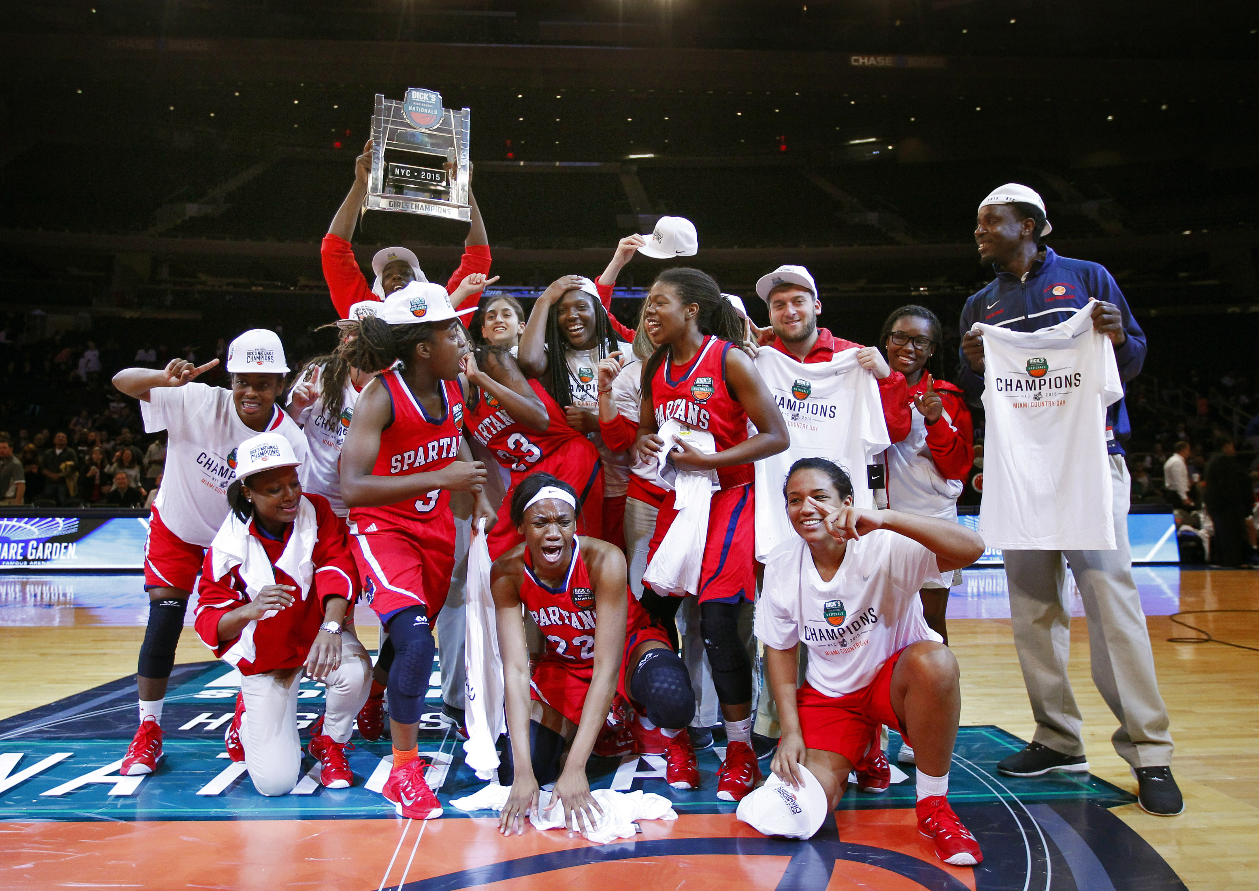 Miami Country Day School earned the DICK'S Nationals title with a victory against fellow Florida squad Dillard. (Photo: Andy Marlin, USA TODAY Sports)