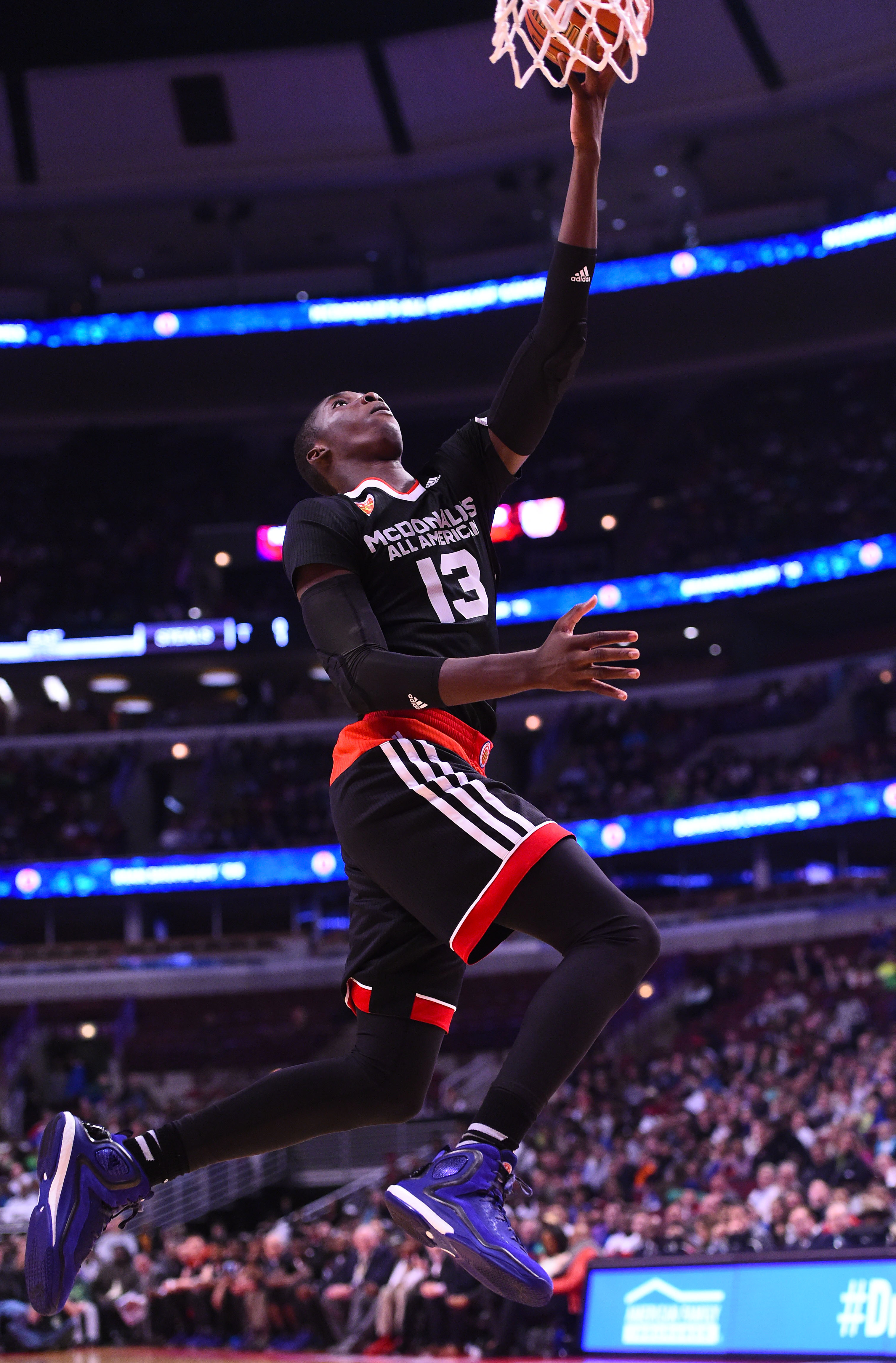 Cheick Diallo can't be stopped when he's going to the basket. (Photo: Mike DiNovo, USA TODAY Sports)