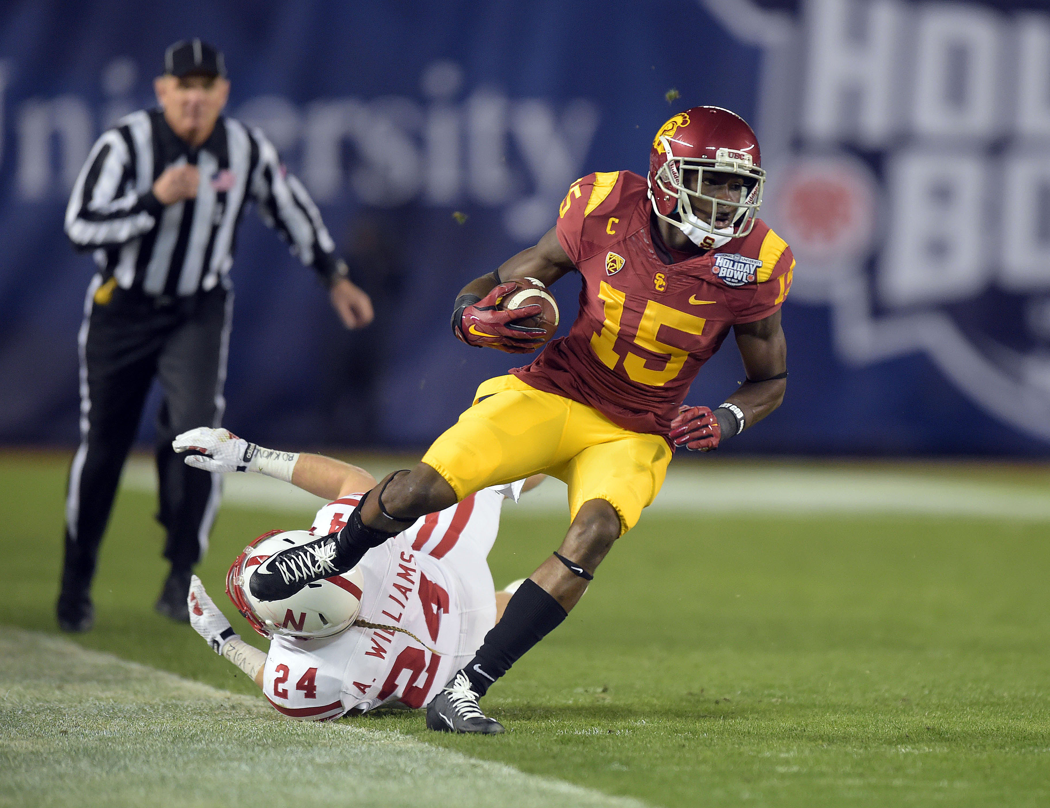 USC receiver Nelson Agoholor was an American Family Insurance second-team selection in high school (Photo: Kirby Lee, USA TODAY Sports)