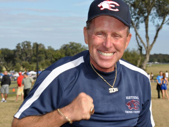 Jeff Sommer, the athletic director of Estero High School who coached numerous runners to state championships, collapsed and died at the state track and field championships Saturday. (Photo: The News-Press file photo)