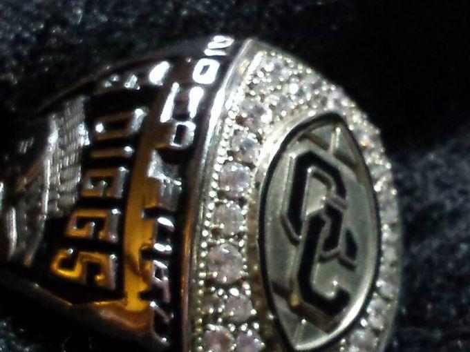Stefon Diggs championshp ring (WUSA)