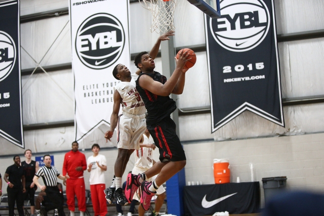 Omari Spellman will make PSA a force to be reckoned with at Peach Jam. / Jon Lopez