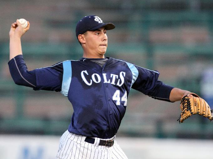 CBA junior right-hander Luca Dalatri struck out 12 to pick up the win and also had three hits and three RBI in CBA's 5-4 win over Wall Tuesday night in the Monmouth County Tournament championship game