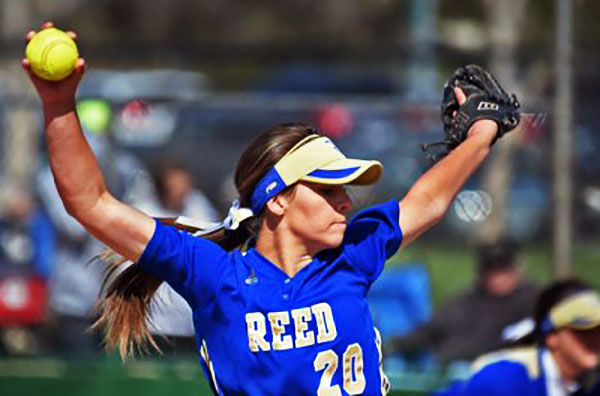 Reed (Sparks, Nev.) pitcher Julia Jensen is one of the few sophomores honored (Photo: Andy Barron/Reno Gazette Journal)