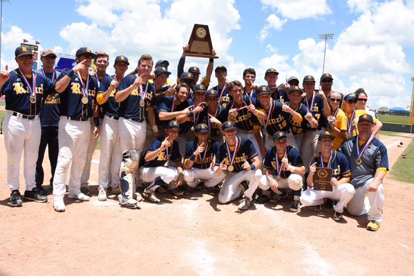 Cypress Ranch (Cypress, Texas) knocked off two Super 25 teams to win the state 6A baseball title. Twitter photo.