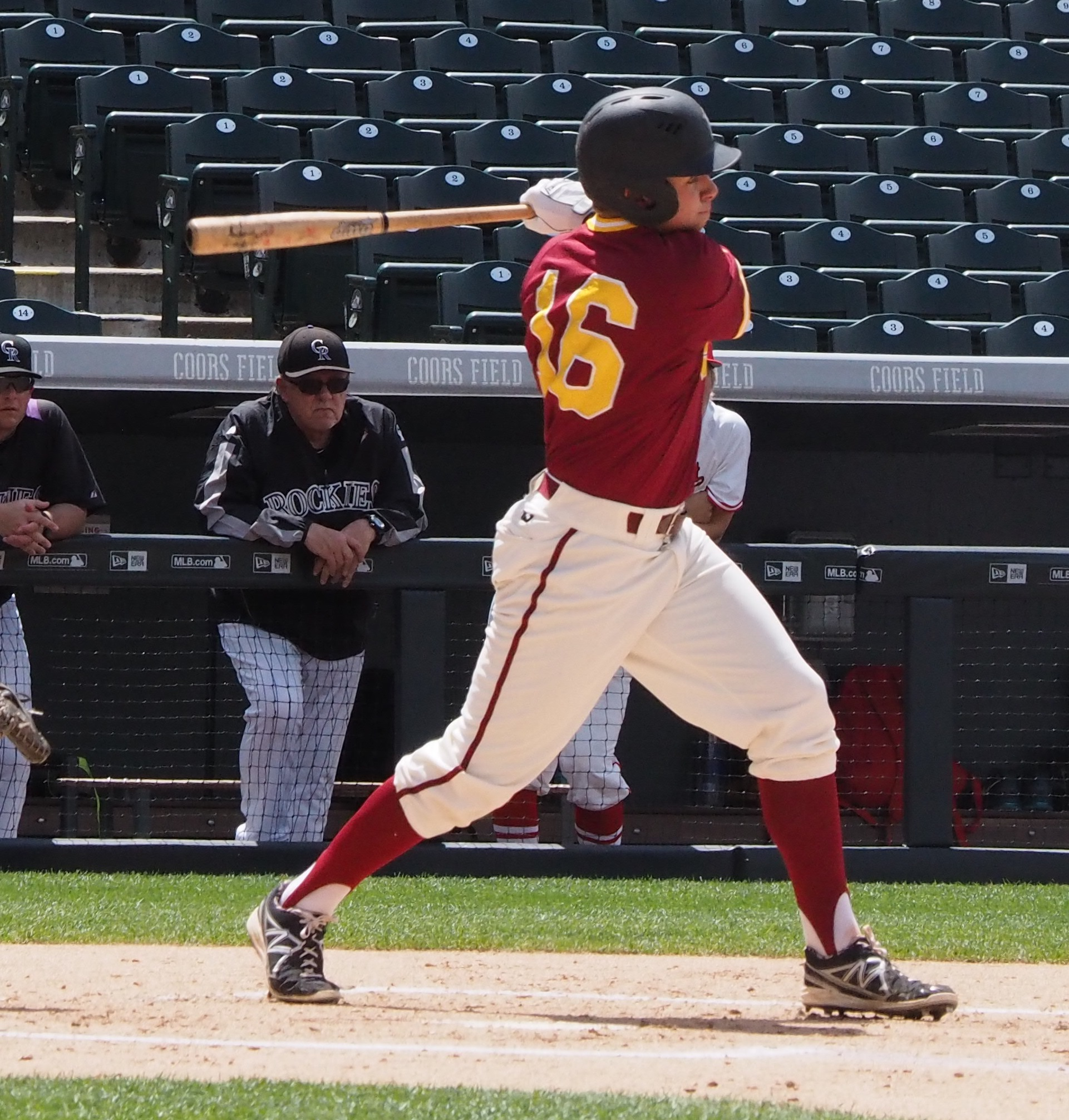 Cole Anderson at Colorado Futures All-Star Game