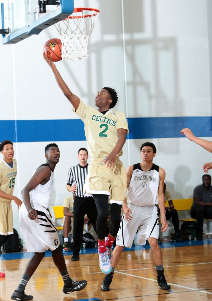 Kobi Jordan-Simmons is ranked No. 2 among point guards in the 2016 class. / (Photos by Kelly Kline/Adidas)