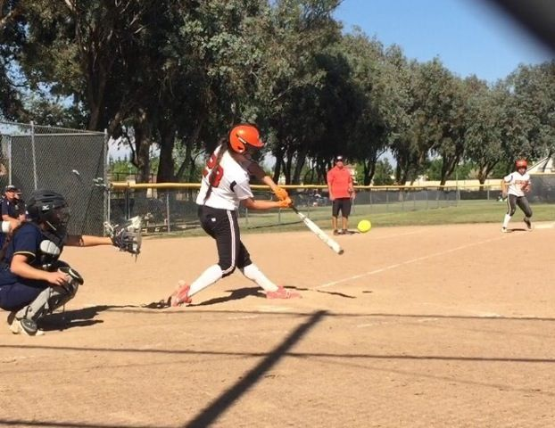 Merced (Calif.) High School pitcher/infielder Madi Nickles (Photo: Brentt Eads)