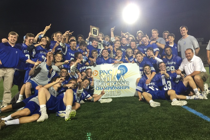Maryland Team of the Year, St. Mary's High School / Photo: Casey Vock
