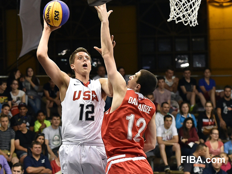 Zach Collins is the latest Bishop Gorman big man to be a top recruit. (Photo: USA Basketball)