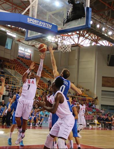 Jalen Brunson led Team USA with 17 points Photo: USA Basketball