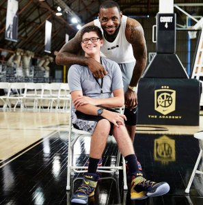 LeBron James meets Michael Walzer at Nike headquarters — Nike