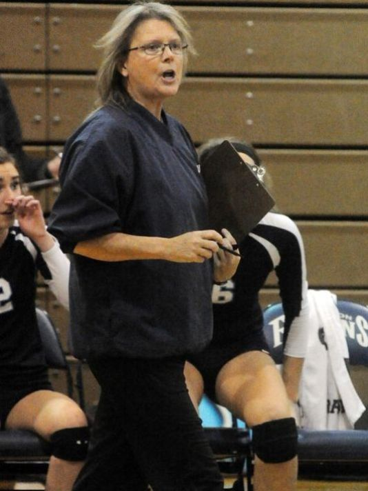 Kelly Graham, a 27-year Livonia Public Schools employee who was the head volleyball coach at Stevenson High, won two Class A regional titles in three years. She was accused of embezzling locker deposits. (Photo: Hometown Life file photo)