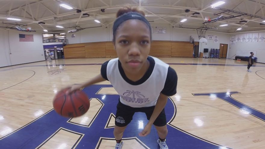 Alecia Sutton has become on of the top high school basketball players in the nation. (Photo: KSDK)