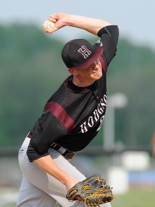 Brandon Walter threw a perfect game in American Legion play, leading Stahl Post to a 6-0 victory over R.C. du Pont in Delaware. (Photo: Jason Minto/The News Journal)