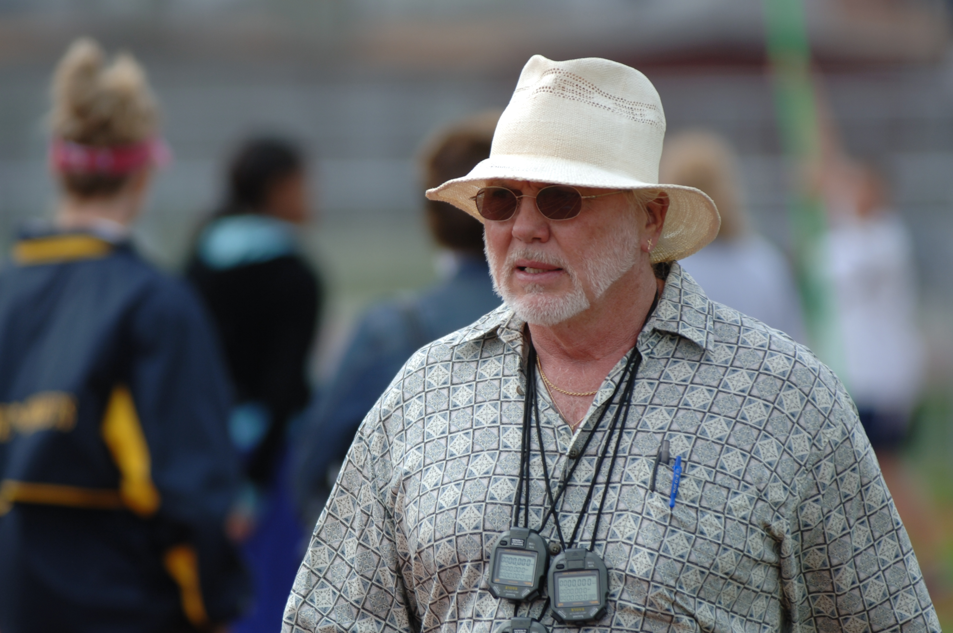 All-USA Girls Track and Field Coach Brian Westfield (Photo: Peter Draugalis Photography)
