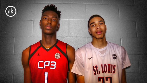 Friends Jayson Tatum and Harry Giles III are neck-and-neck in the race to be the nation's top overall prospect — Twitter