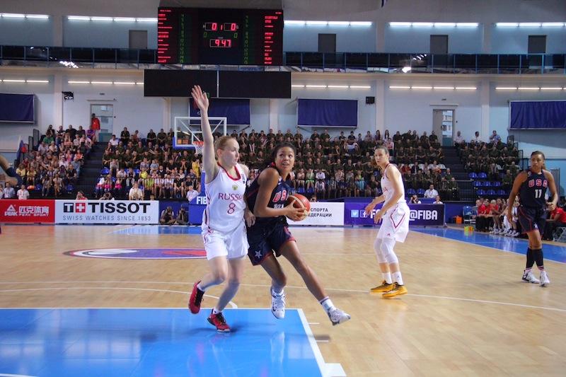 Napheesa Collier made the All-Tournament team (Photo: USA Basketball)