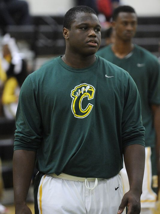 After playing two sports last season, Marlon Davidson says he's sticking to football this season at Greenville, Ala.