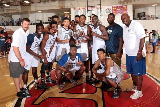 NY RENS win the adidas Finals at North Gwinnett High School in Atlanta Georgia.  (Photo by Kelly Kline/adidas)
