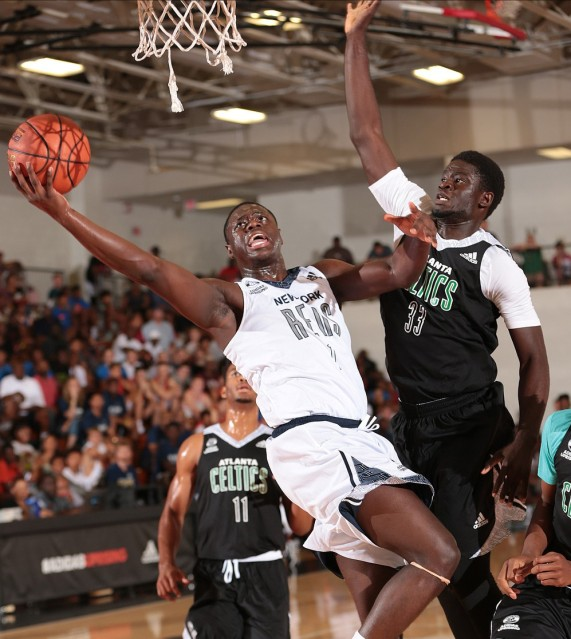 Rawle Alkins would love to add Lonzo Ball's passing ability. (Photo: adidas)