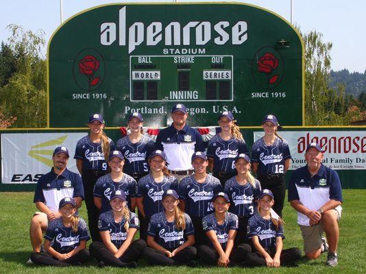 The Central Iowa Little League team. (Photo: Photo courtesy Little League Softball World Series)